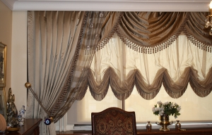 Balloon curtains and drapes